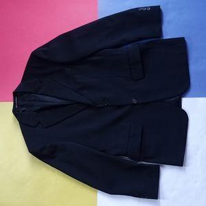 Vintage Joseph & Feiss Essential Black Blazer Wool